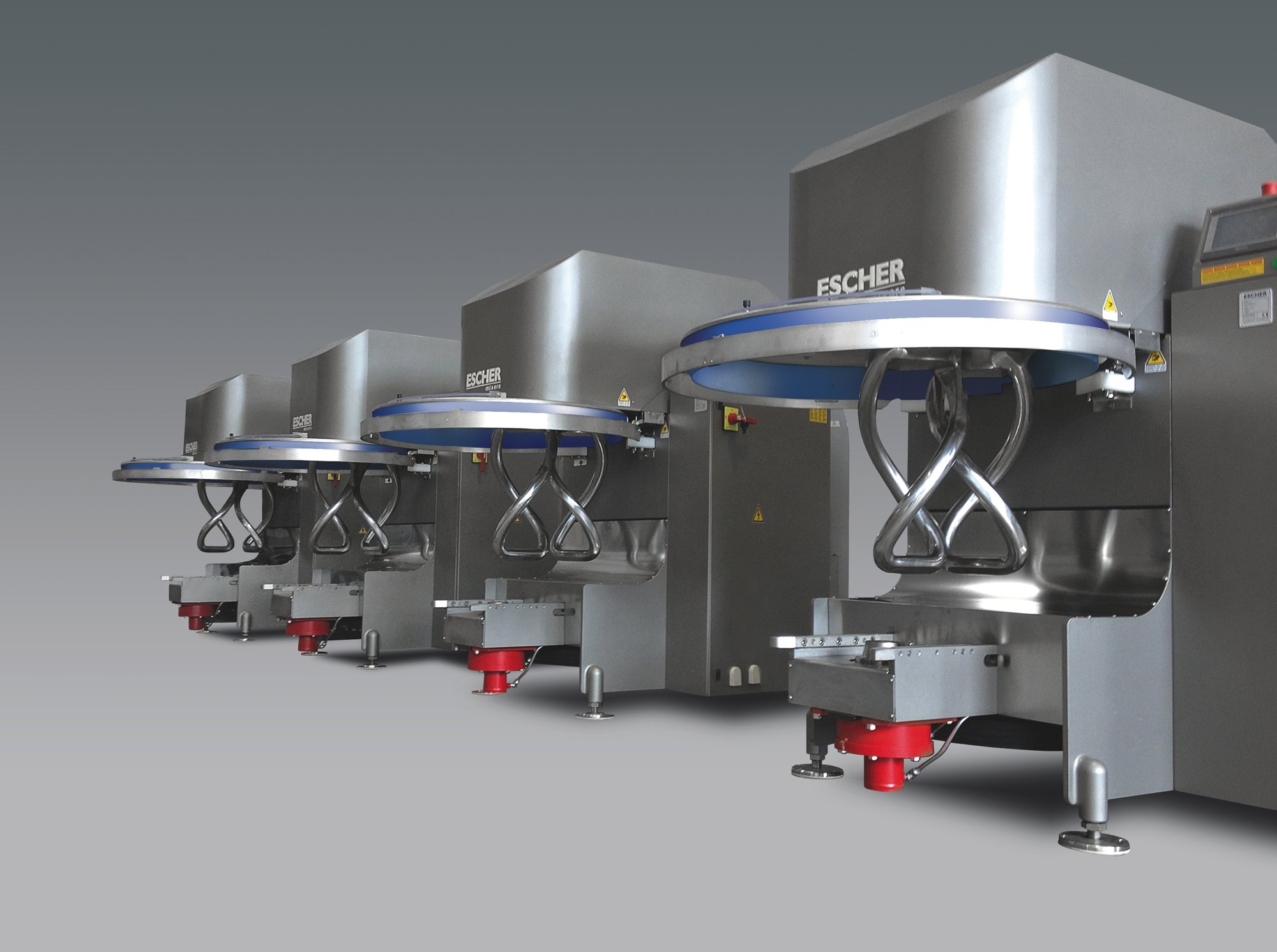 Escher Automated Industrial Size Production Mixers