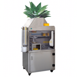 Commercial pineapple slicer
