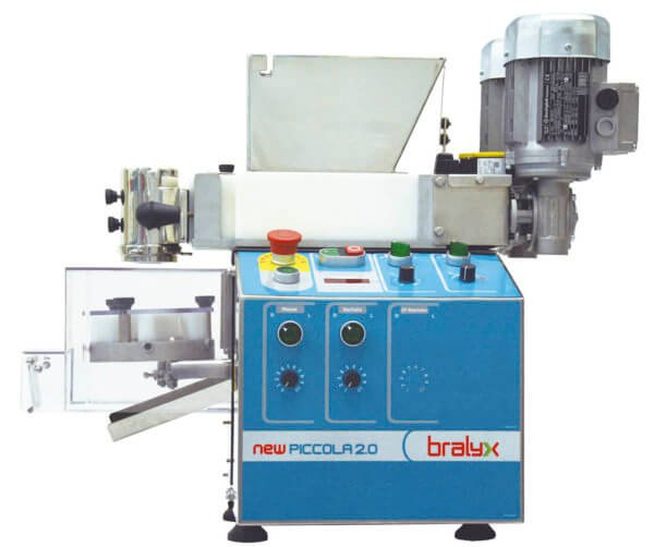 Bralyx Forming and Encrusting Machine